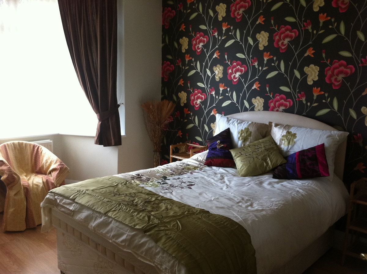Newly decorated double bedroom