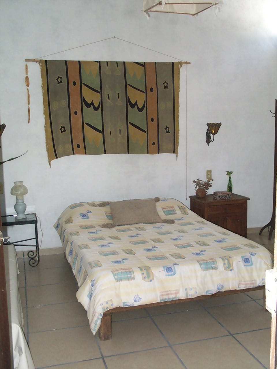 Casitas Kinsol Guesthouse in Puerto Morelos - near Cancun - (website hidden) - Room #5 - A full size bed -