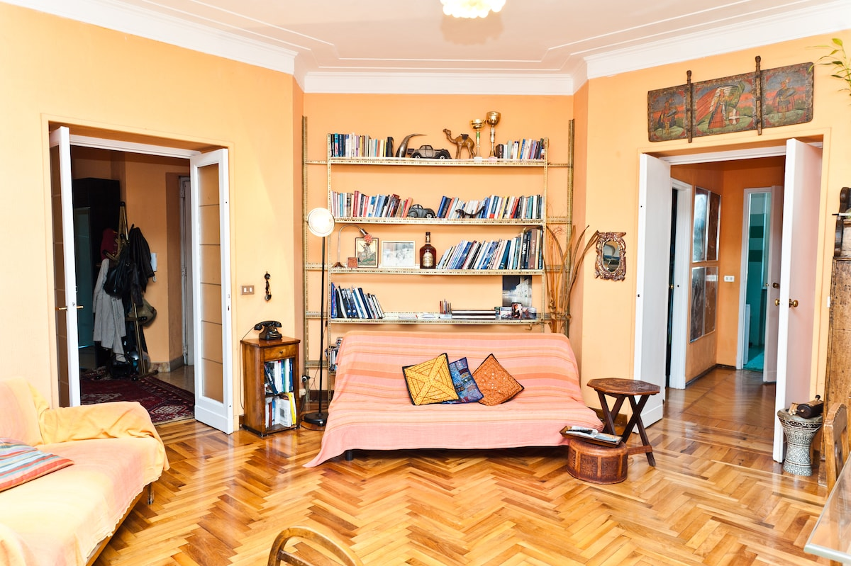 Room/(penthause with terrace-centre