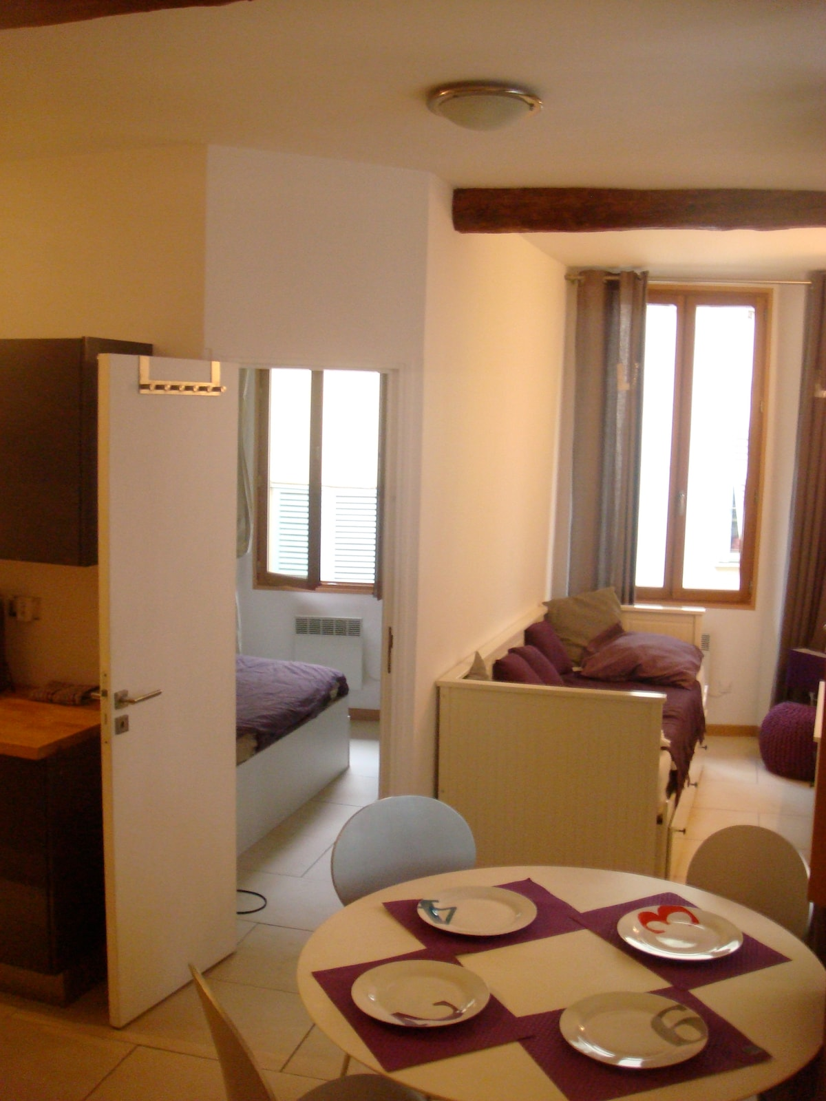 Charming 1 br in the Old Town, Nice