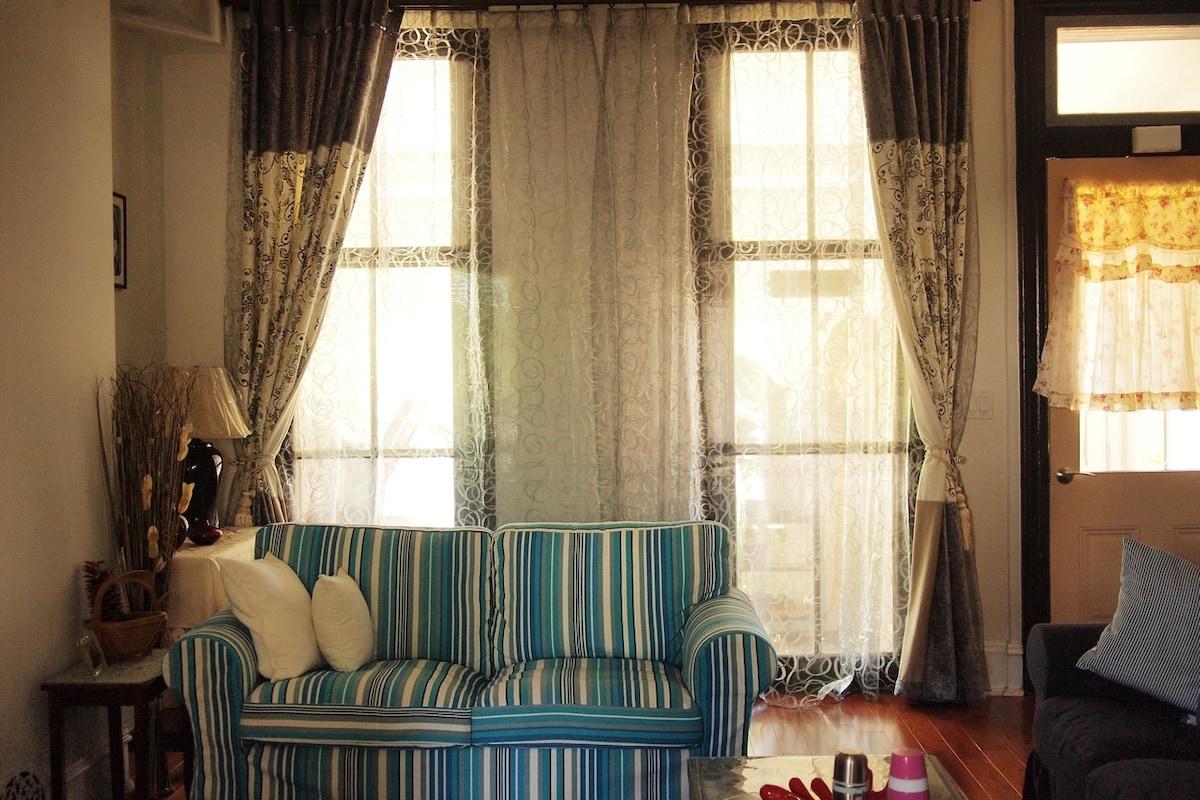 Our lovely living room
