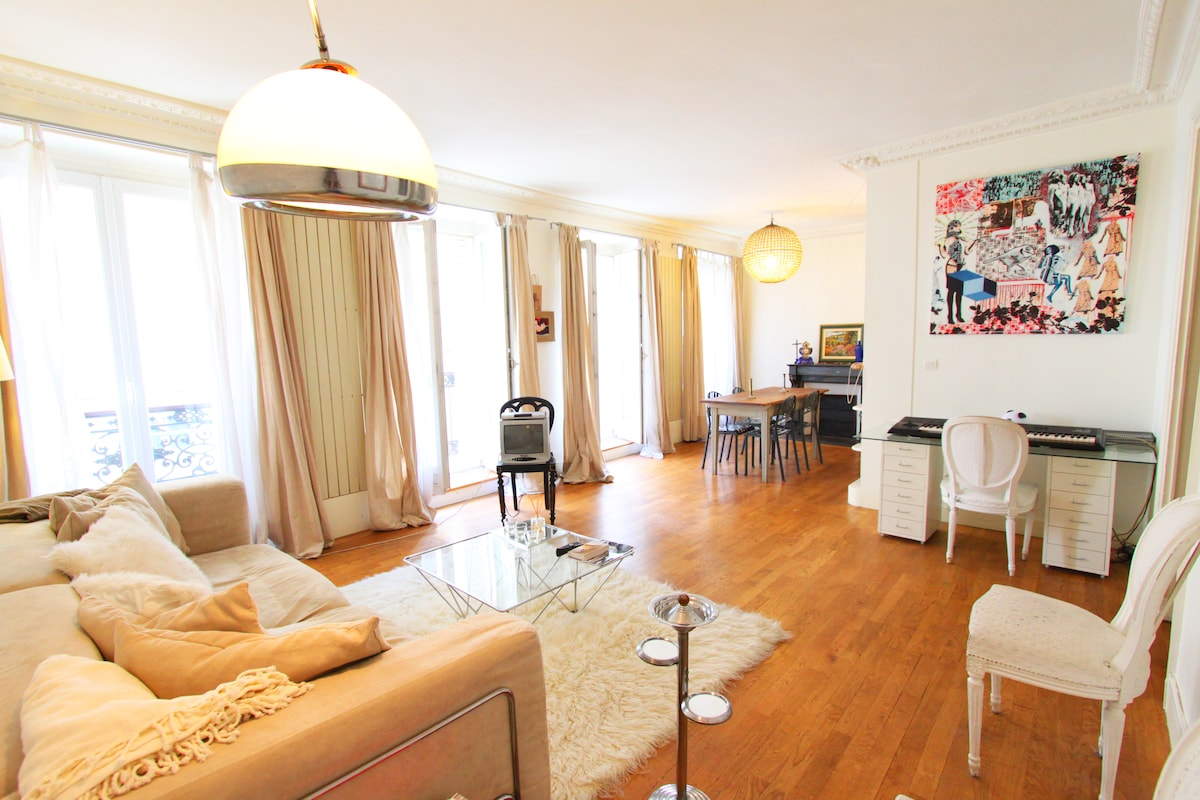Lovely flat in Paris district 9