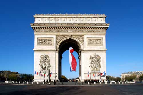 Nearby ARC DE TRIOMPHE
