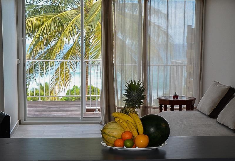 Bel appartement face à la mer