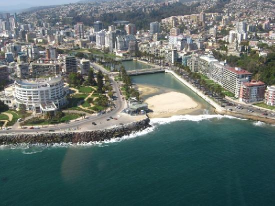 VIÑA DEL MAR. town apartment 5 pax.
