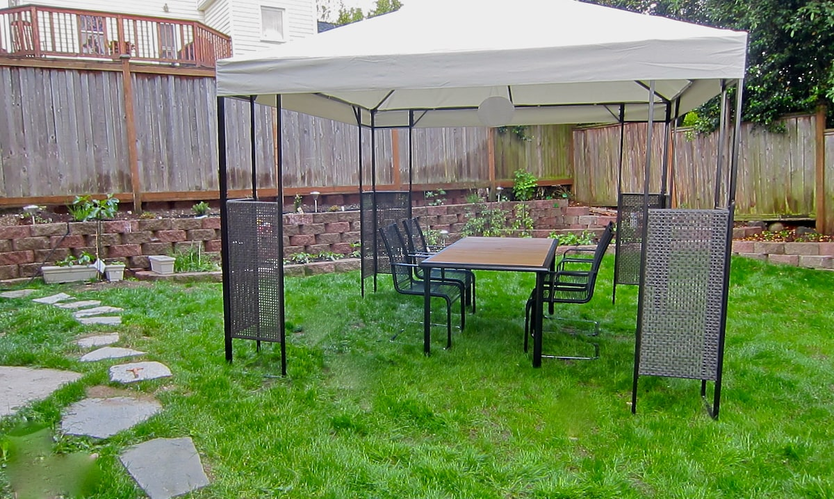 Gazebo for you to enjoy in the back yard - Just added :)