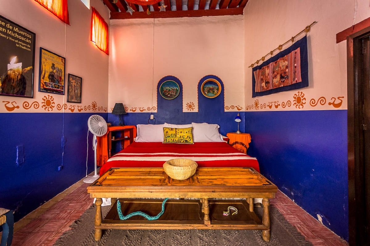 Patcuaro Suite second bedroom can be set up with a king size or two single beds