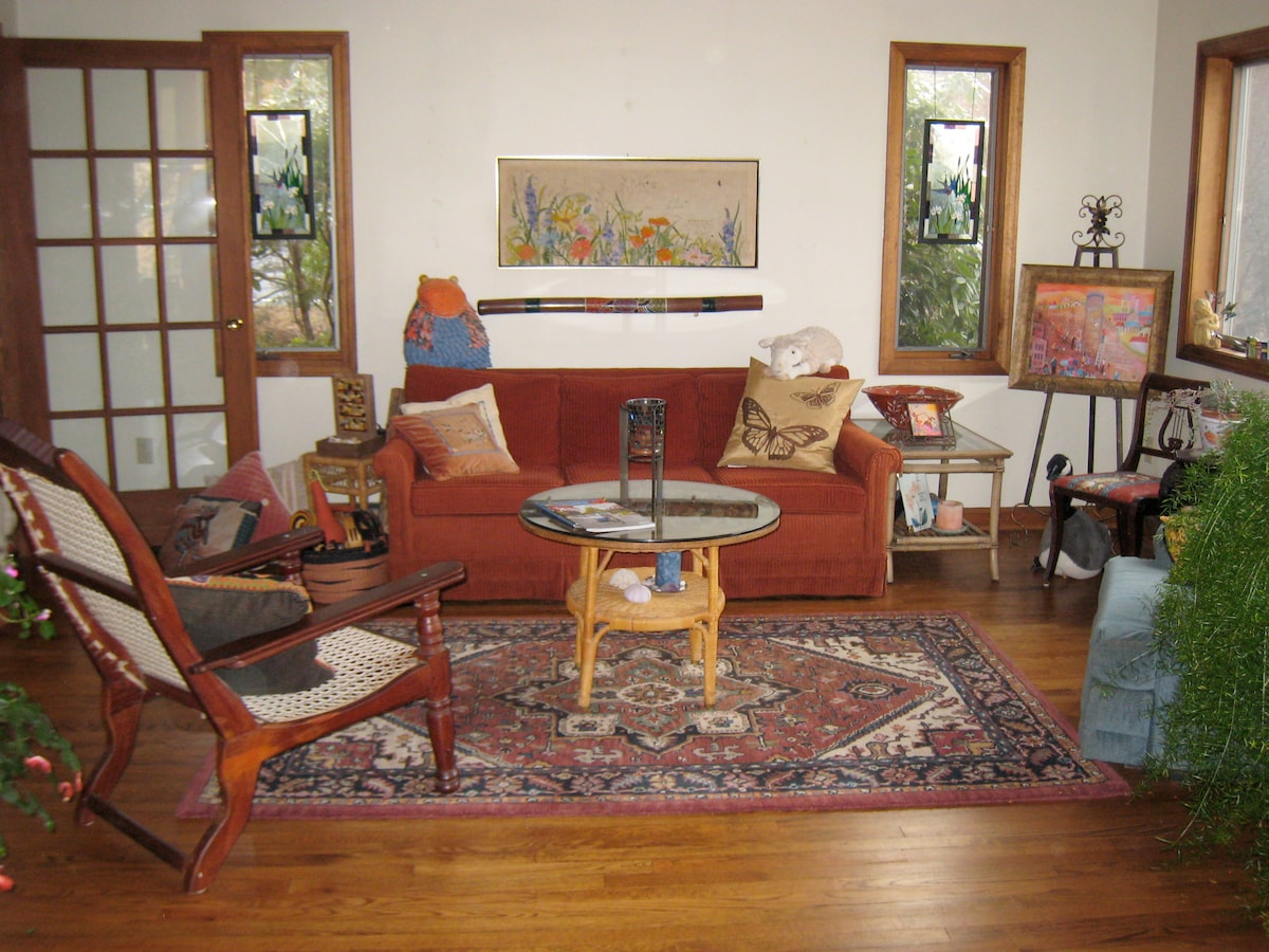 Family Room Sitting Area