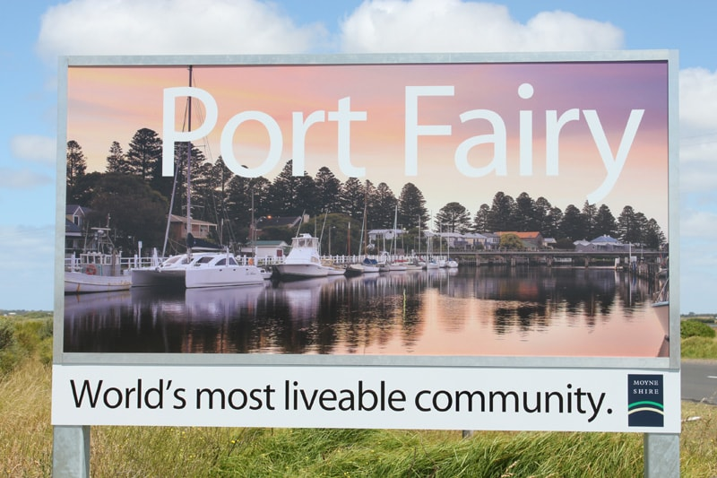 Judged the world's most livable town for its size in the world!