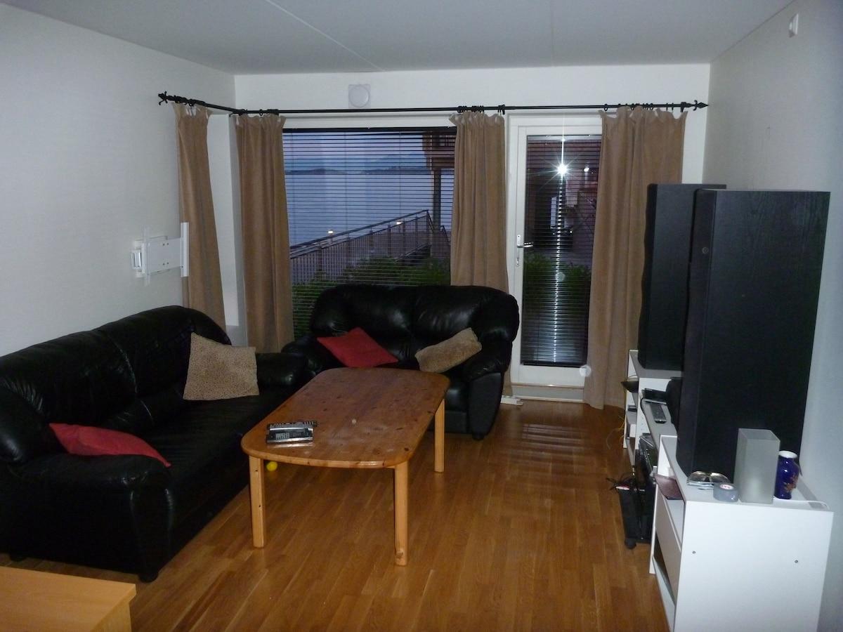 Living room, door to terrace