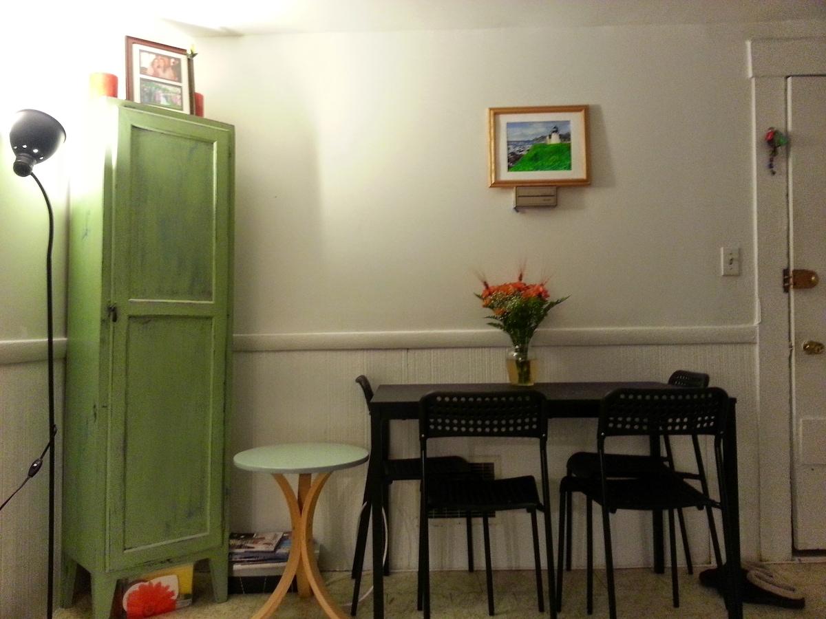 Cozy apartment in Inman Square