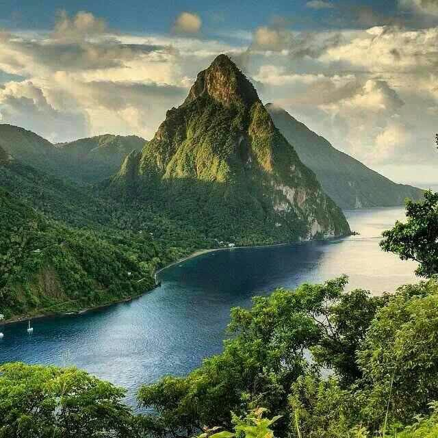 Pitons,  30 minutes Drive from house