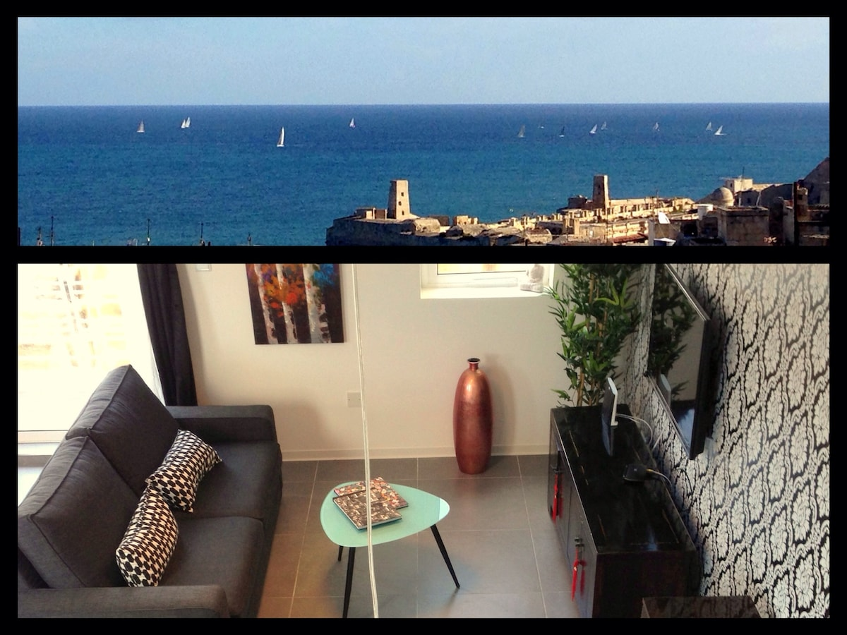 Valletta Art pentHouse with seaview