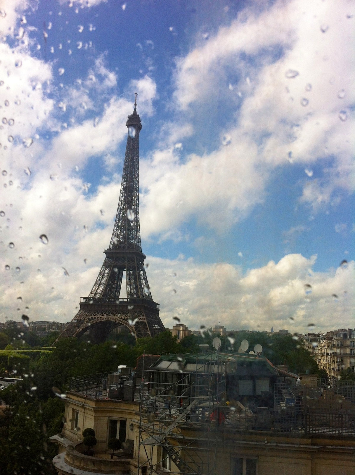 View from the window - Paris
