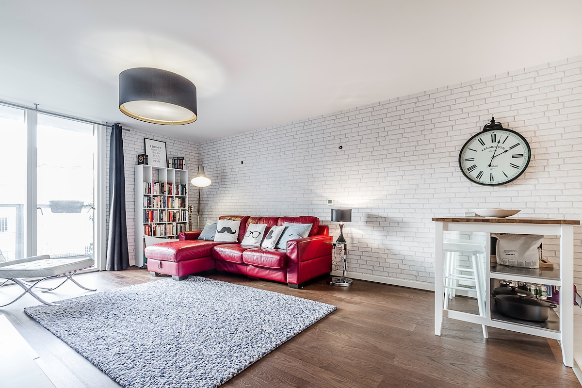Well-connected luxury apartment