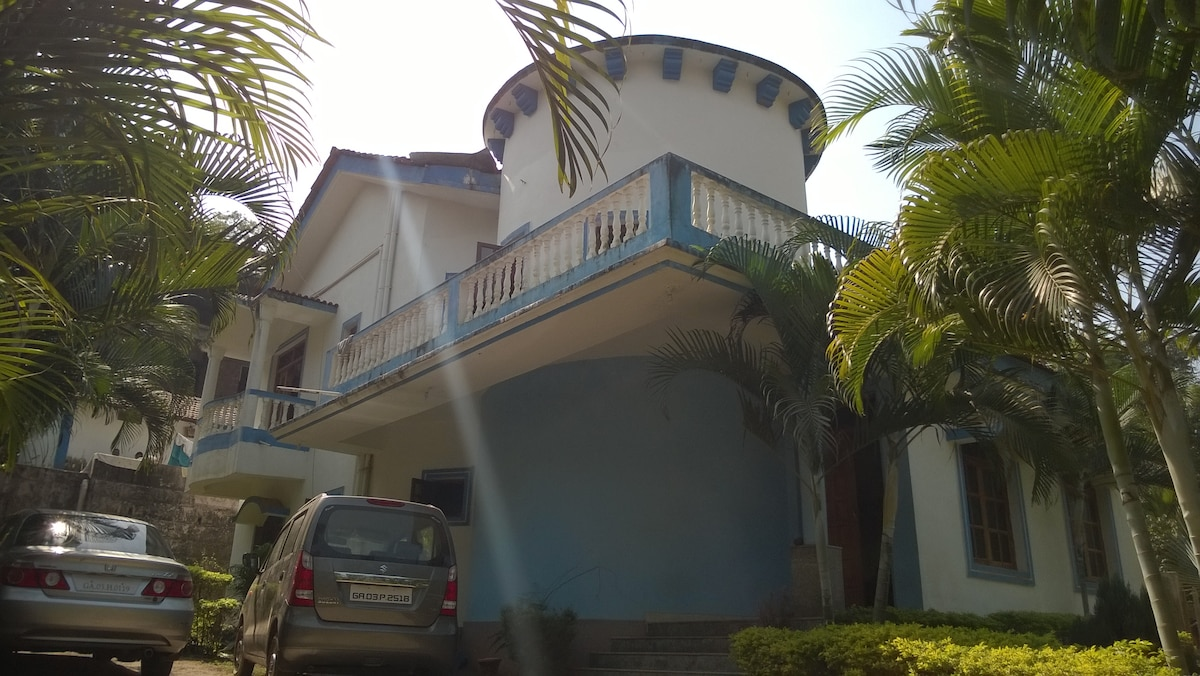 Spacious house in North Goa, 3 BR