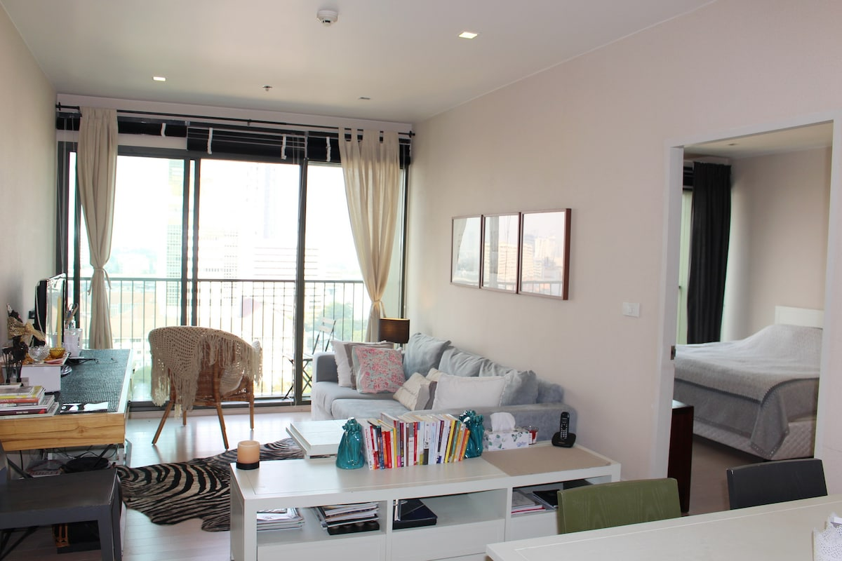 Cool New Apt in Happening Thonglor