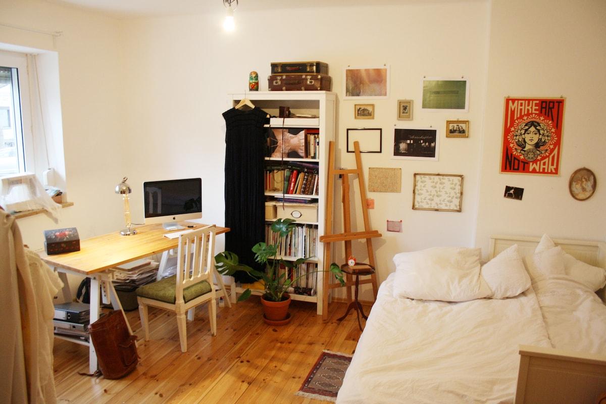 Schönes helles Zimmer in Stadtmitte