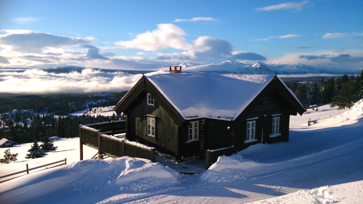 Wonderful cabin with great view