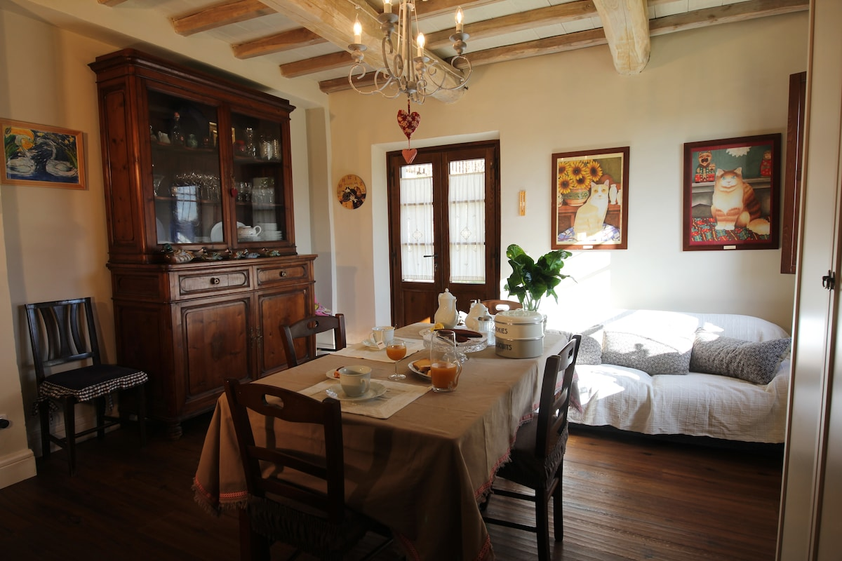 Charming B & B in Tuscany farmhouse