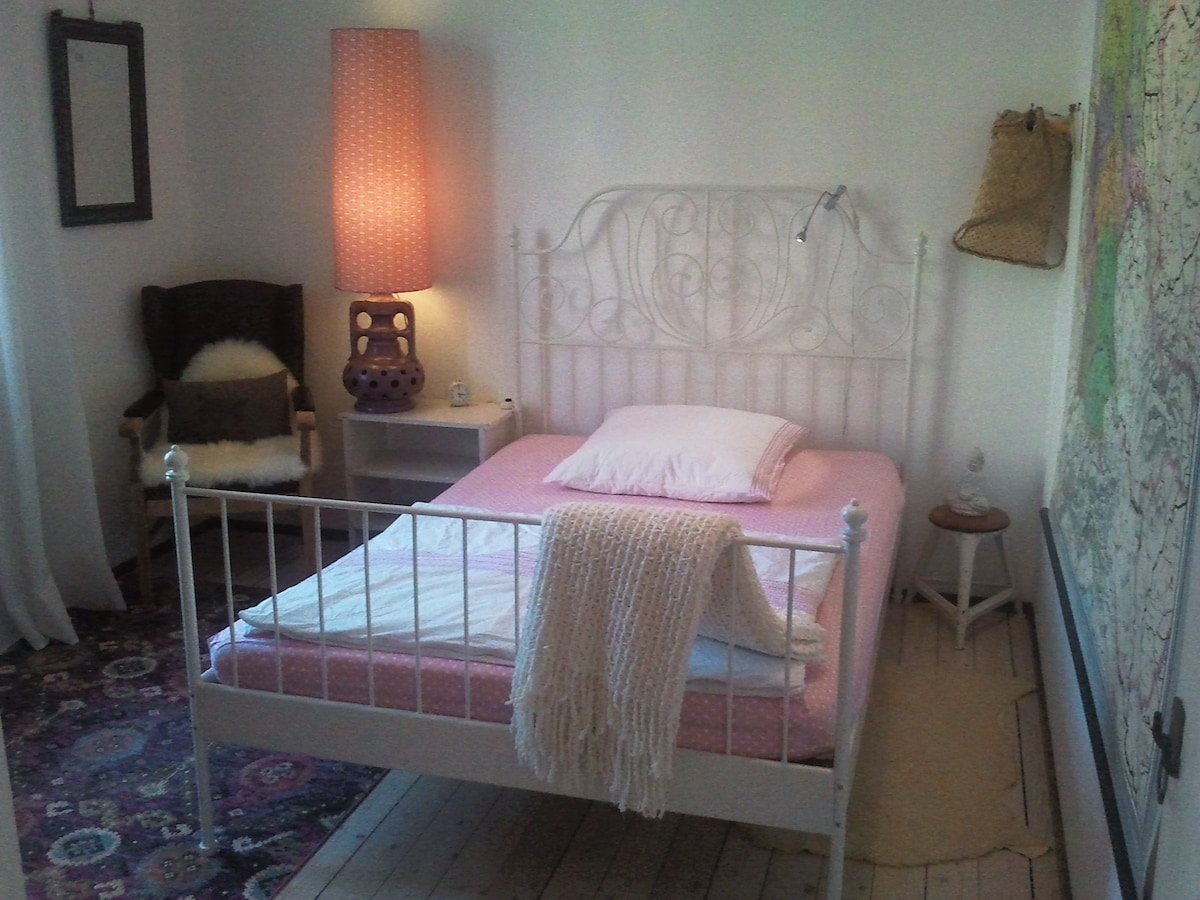 cosy bedroom with own bathroom