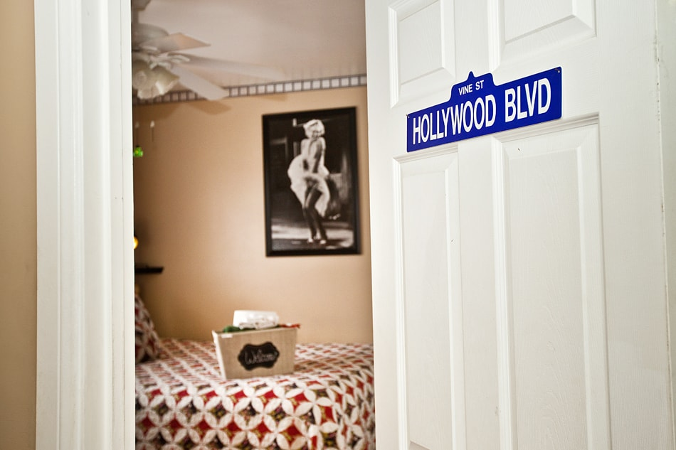 A sneak peek preview - coming soon: YOU, appearing live in the Hollywood Room on your next visit to Los Angeles.