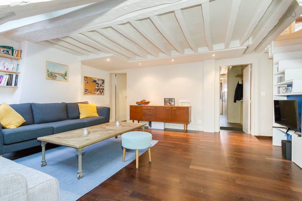 Belle chambre dans charmant duplex