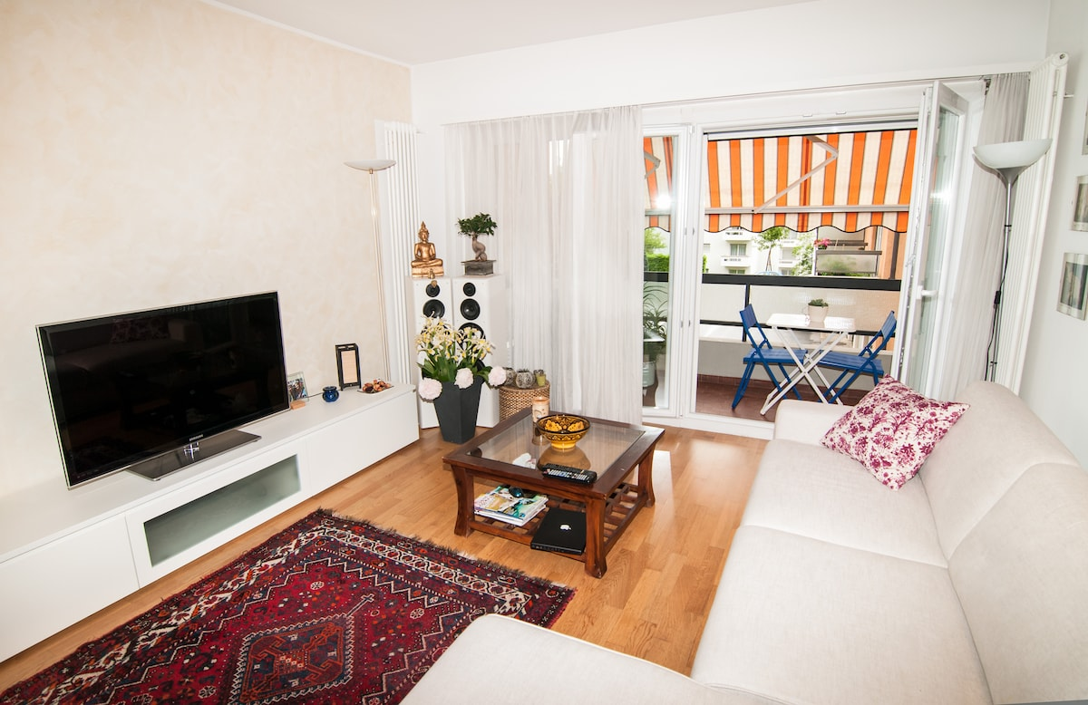 Lugano: amazing flat with a view