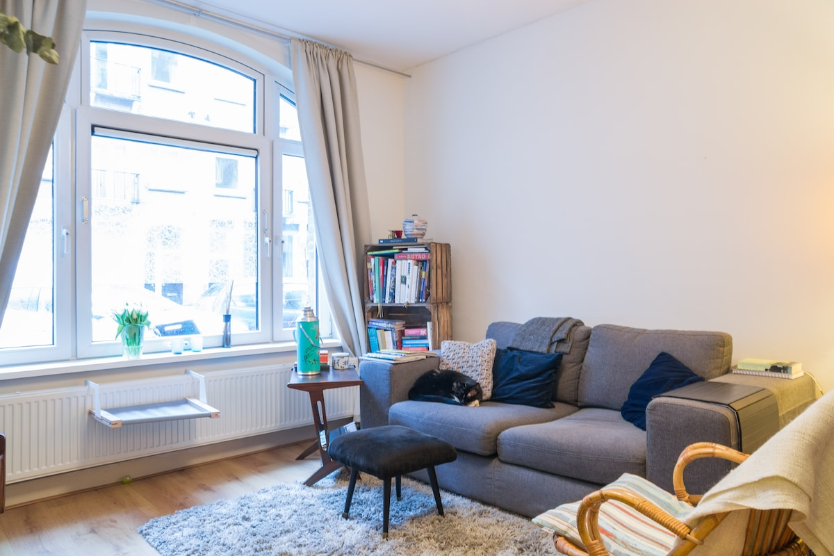 Best value apartment in vibrant nbh