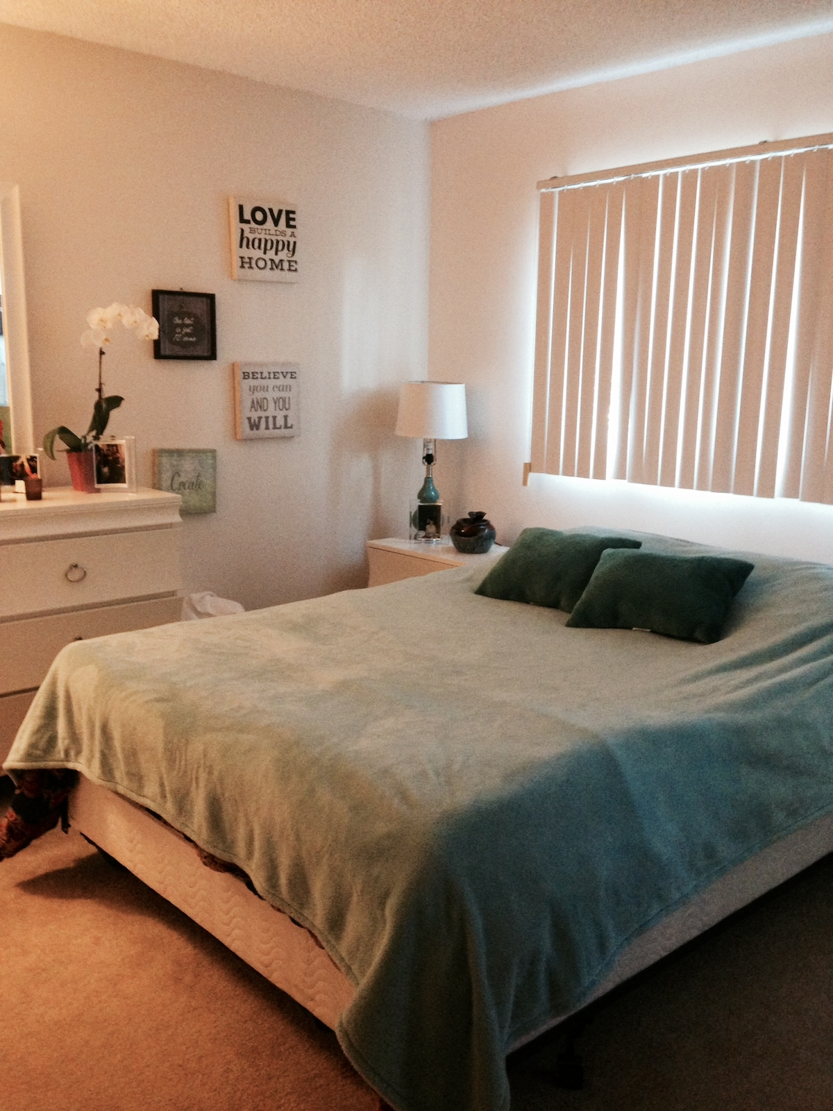Private bedroom & Bath Available!