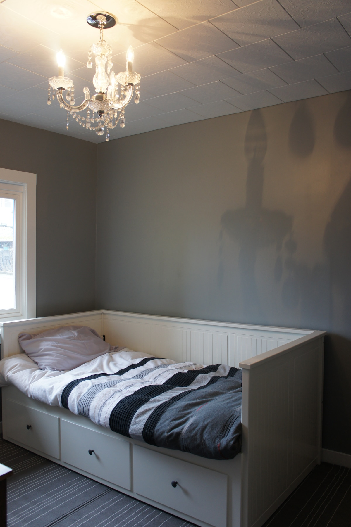 Newly renovated clean, bright room
