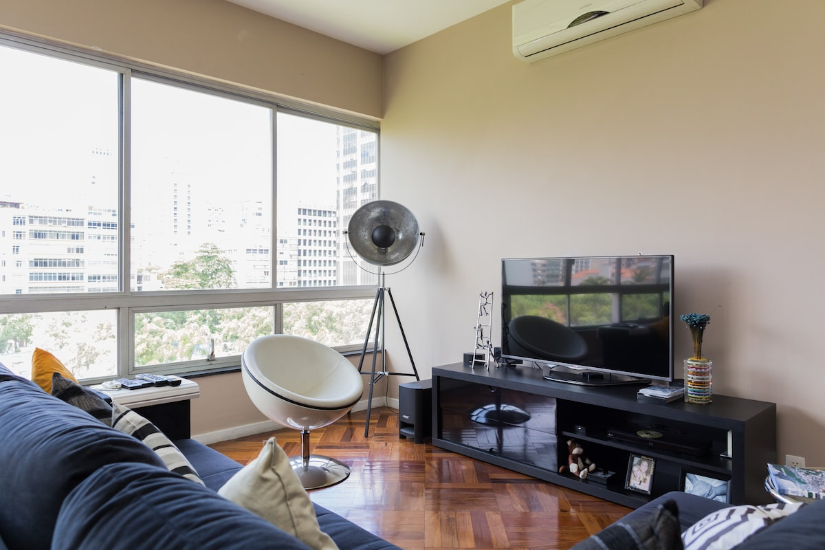Classy apartment in Ipanema (for 1)