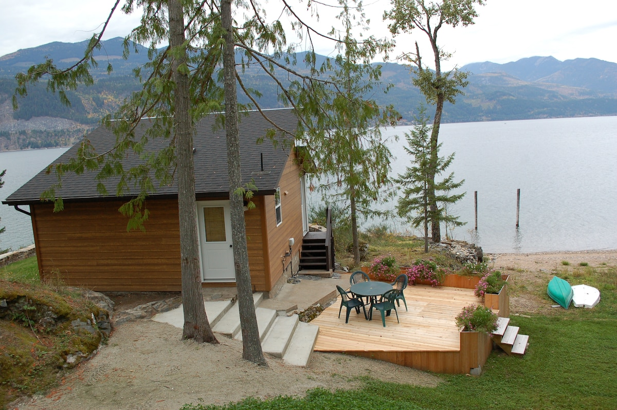 The best cabin in the Kootenays