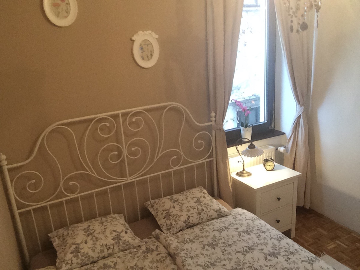 Bedroom with double bed (160X200cm)