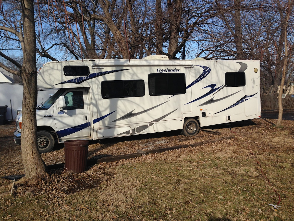 Relax in Private in a Spacious RV