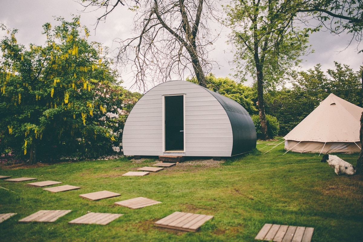 Glamping Hut at Ballyvolane house