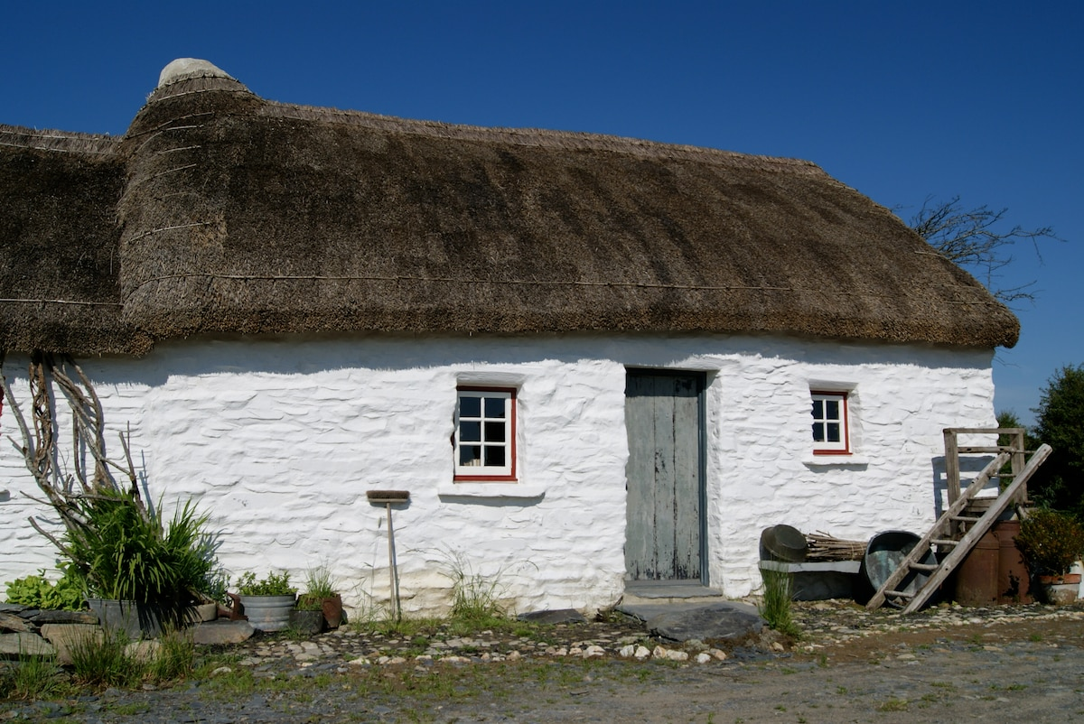 Thatched cottage as featured on TV