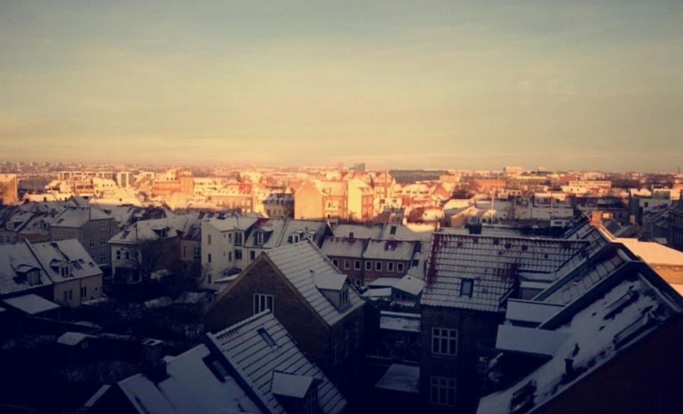 Wake up to the view of Aarhus