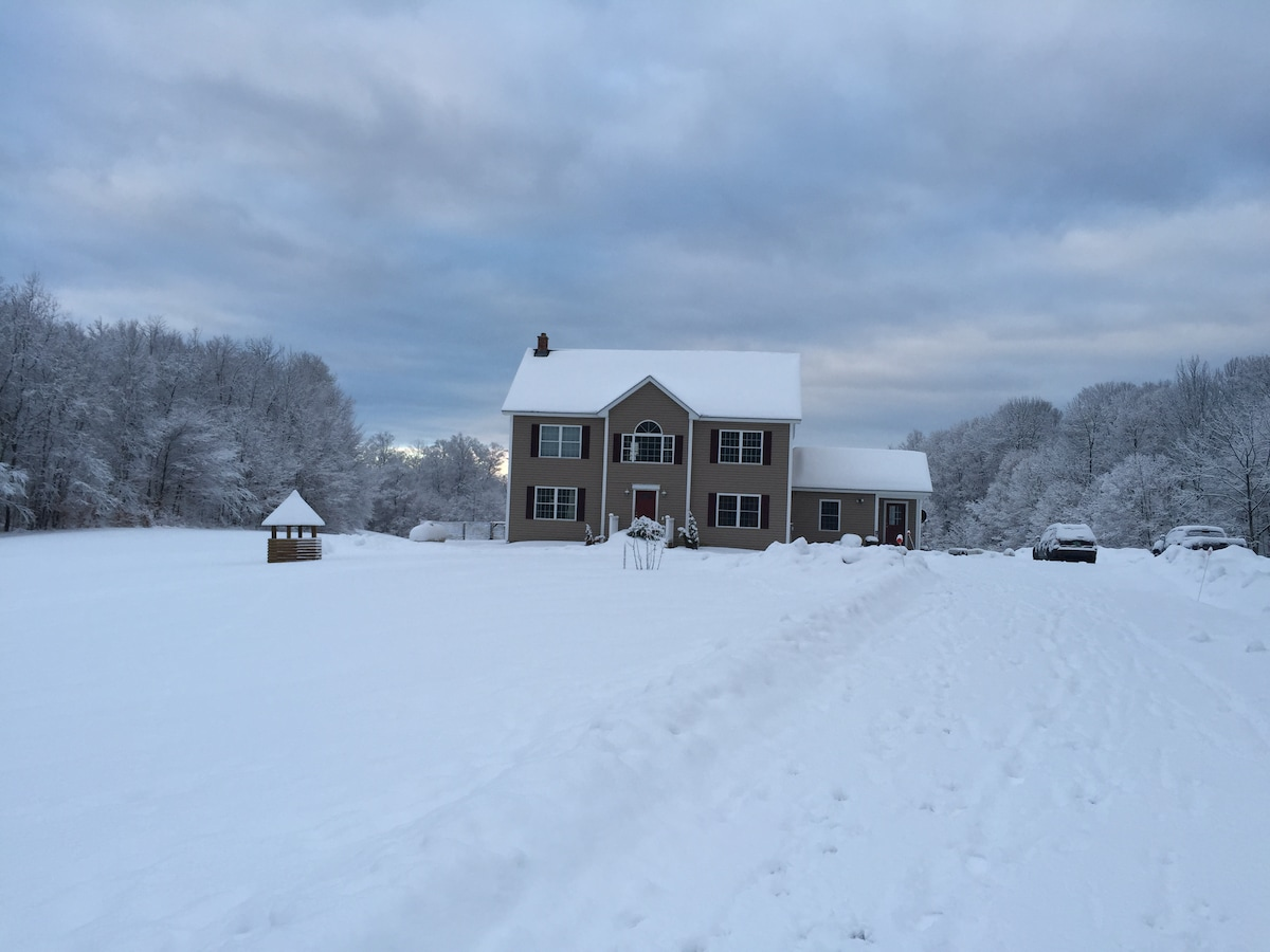Vermont home close to great hiking!