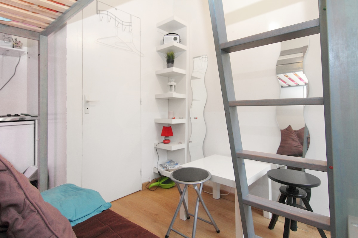 Petit Studio dans Belleville