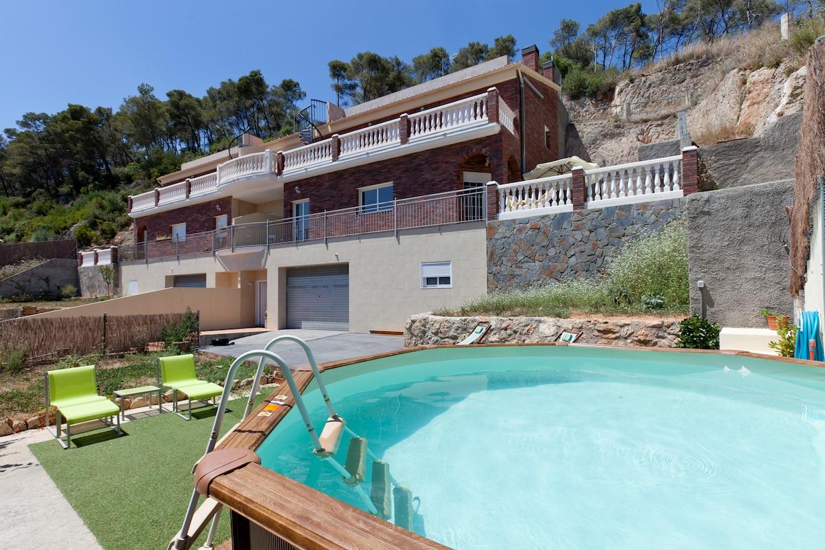 House with stunning views Barcelona