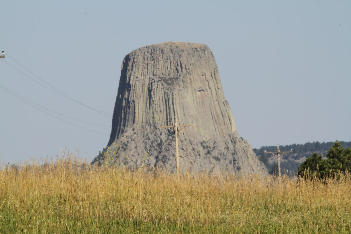 Devils Tower as Crazy Horse Saw It!