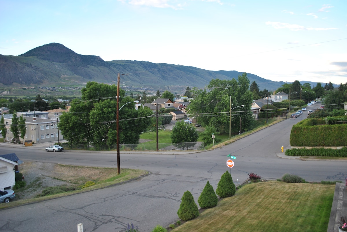 Downtown Kamloops house with a view