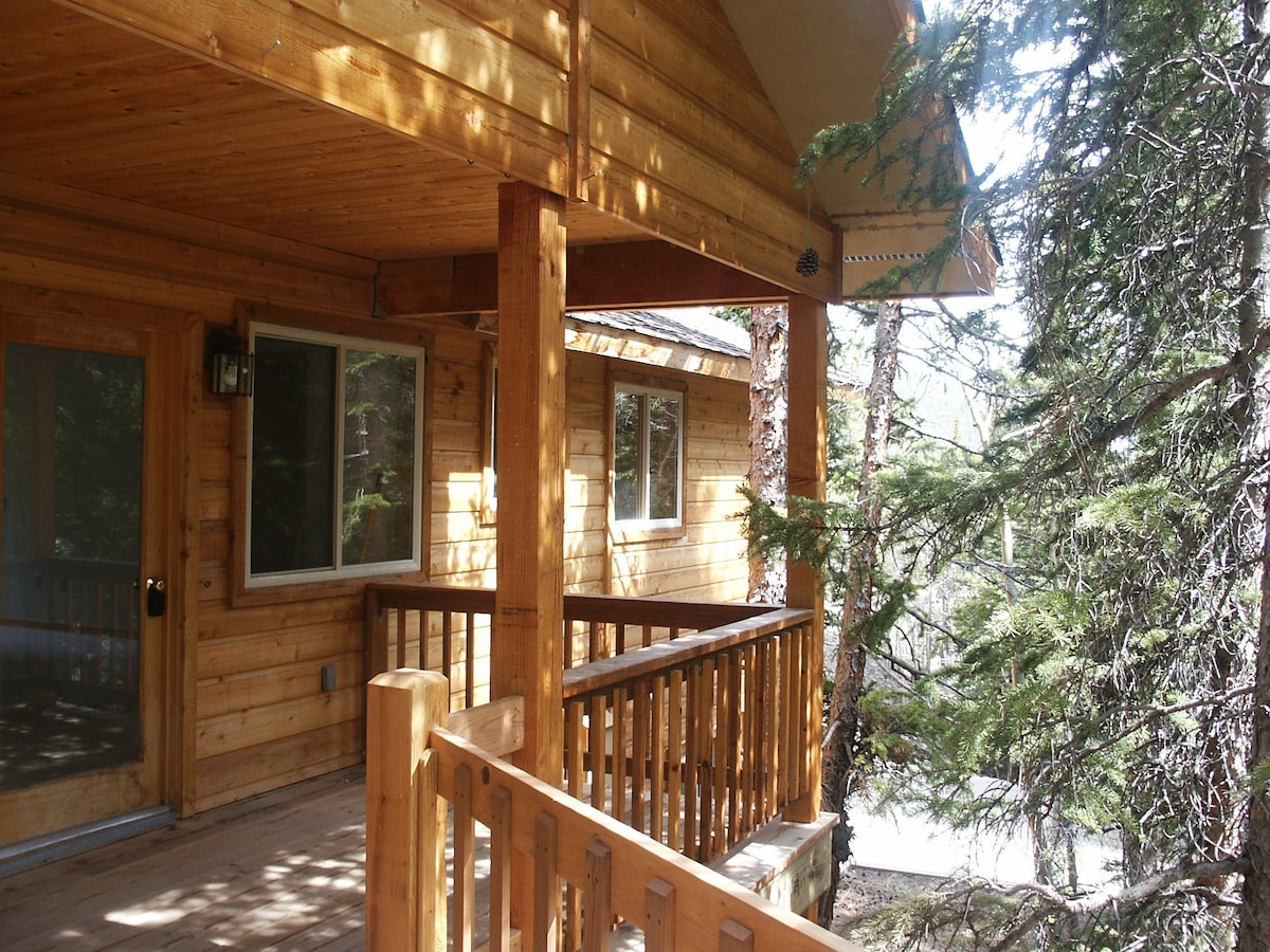 Step into the treehouse, for privacy, serenity and scenery!