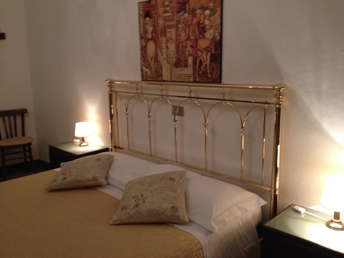 Double room right in Siena's heart