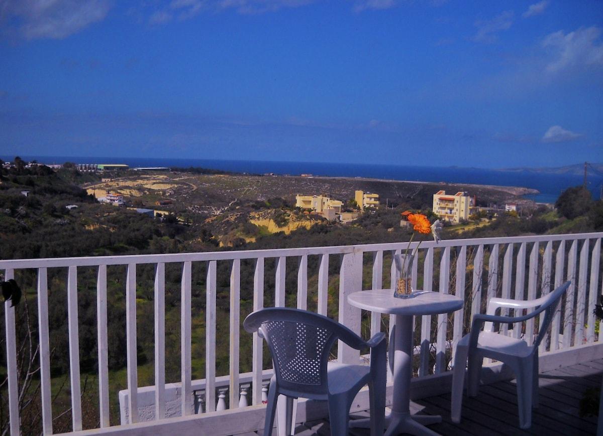 Incredible Sea View Home in Crete !