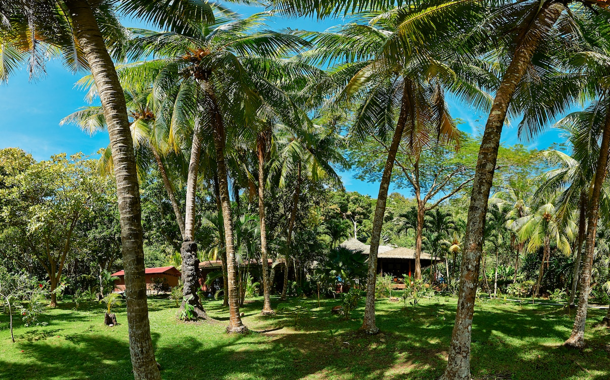 Balinese Houses on private Beach