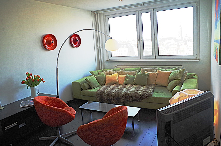 Living above the rooftops of Berlin