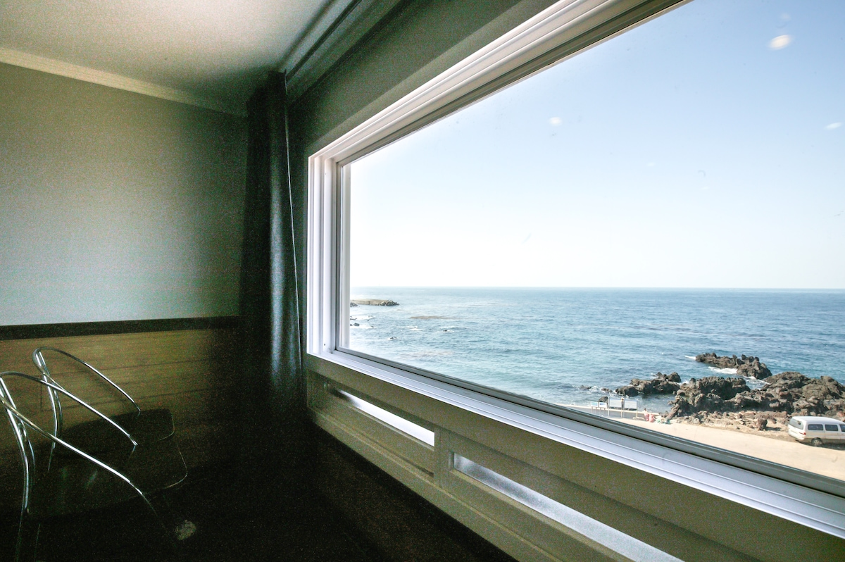 Ocean view from the loft