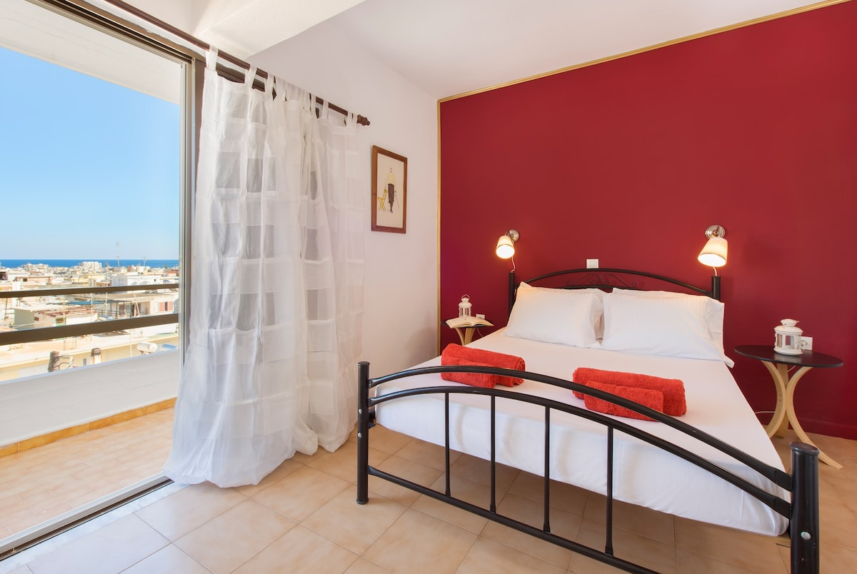 cosy appartment in Rodos,top view !